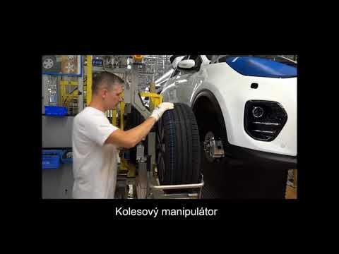 Moderné manipulátory uľahčujú prácu operátorom v Kia Motors Slovakia