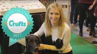 Countdown's Rachel Riley is at Crufts 2017!