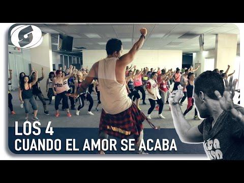 Cuando el amor se acaba - Los 4 -  Salsation choreography by Alejandro Angulo