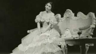 Maria Callas - Violetta aria - La Traviata - Scala, live 01 19 1956