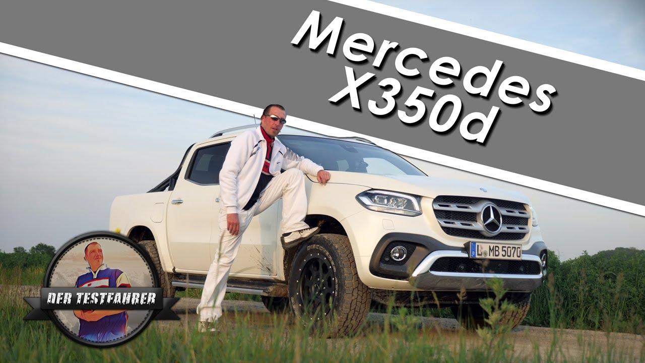 Testfahrer Mercedes
