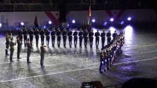 Спасская Башня - 2013. Белорусы зажигают!