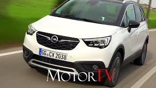 Crossover : new 2017 opel crossland X l driving scenes