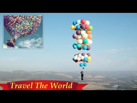 Pixar's Up comes to life with chair stunt in South Africa  - Travel Guide vs Booking