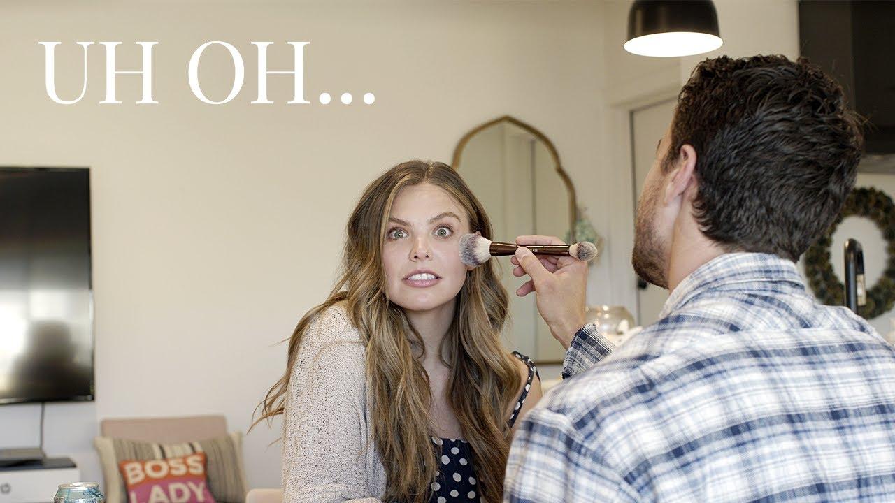 My Boyfriend Does My Makeup!