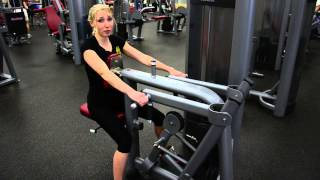 Beginner Strength Training Workout on Machines