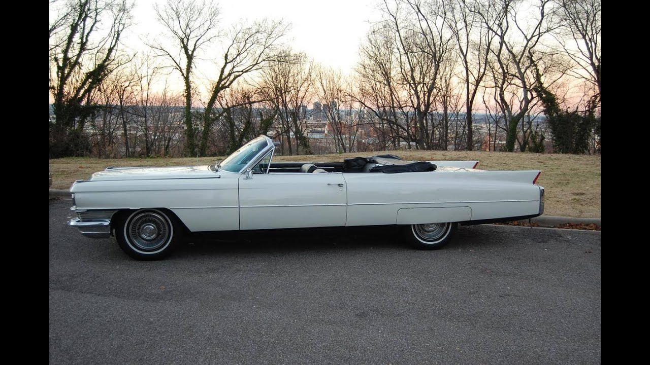1963 Cadillac DeVille Convertible, Restored! - YouTube