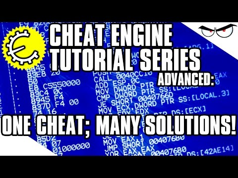 Cheat Engine 6.4 Tutorial Part 12: How to Create Multiple Solutions for One Cheat