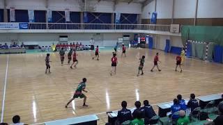 5日 ハンドボール女子 福島商業高校 小松市立×清峰 1回戦 3