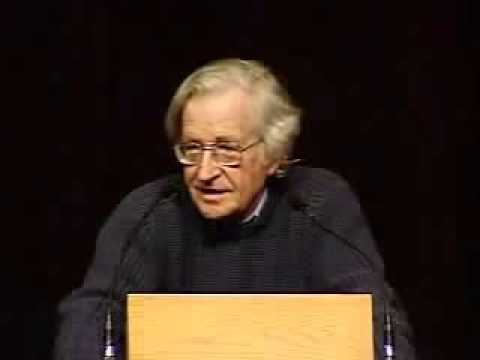 Noam Chomsky - The Militarization of Science and Space (2004)