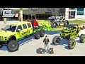 FAMOUS RAPPER SPENDS $400,000- FORD 6x6 & LIFTED RAZORS! (ROLEPLAY) | FARMING SIMULATOR 2019