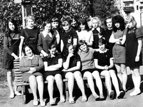Старые школьные фото и забытая песня Антонова.wmv