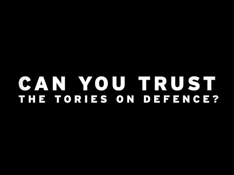 Can you trust the Tories on defence?