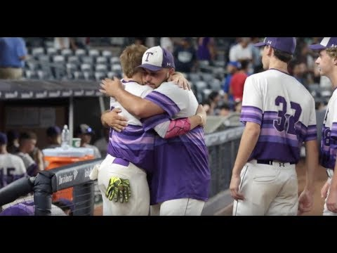 Tottenville reacts to their 13-2 loss to James Monroe in PSAL AAA Baseball Championship Game