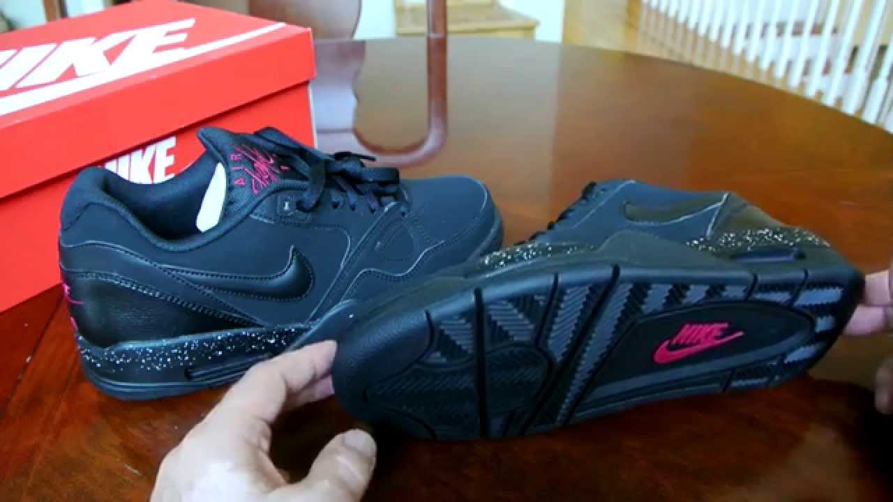 big sale 8e0c7 c769b Nike Air Flight 13 Low Black