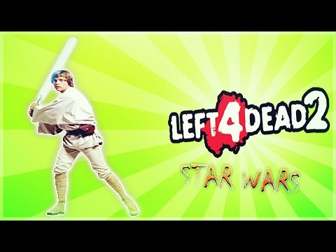 Left 4 Dead 2 - Star Wars Edition -  Hardest Level Ever - Sith Drone - Comedy Gaming