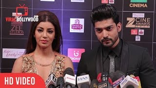 Gurmeet Choudhary and Debina Bonnerjee At Zee Cine Awards 2017 | Viralbollywood