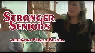 Stronger Seniors Strength -  Chair Aerobics DVD Video, Elderly Exercise, Chair Exercise