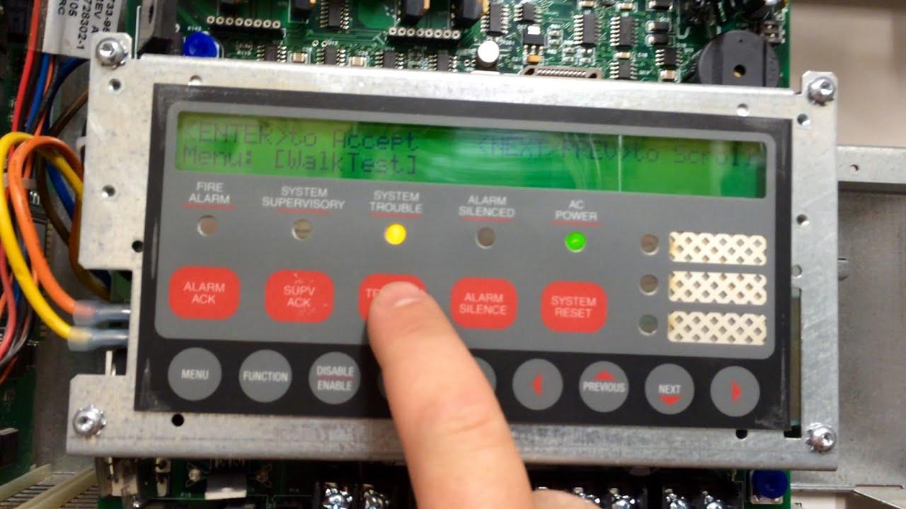 walk test demo simplex 4010 youtube rh youtube com Notifier Fire Alarm Horn Strobe Fire Alarm Bell Trip