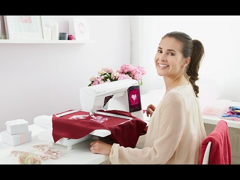 HUSQVARNA VIKING® DESIGNER RUBY Royale™ (Deutsch) sewing and embroidery machine