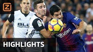 Samenvatting | Valencia - Barcelona | 26/11/2017