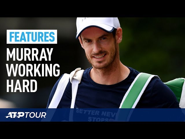 WIMBLEDON | Extended Andy Murray Practice Session Wimbledon 2019