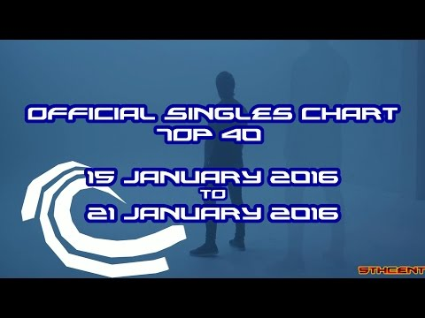 Official Charts (UK): Top 40 Singles (15 January 2016 - 21 January 2016)