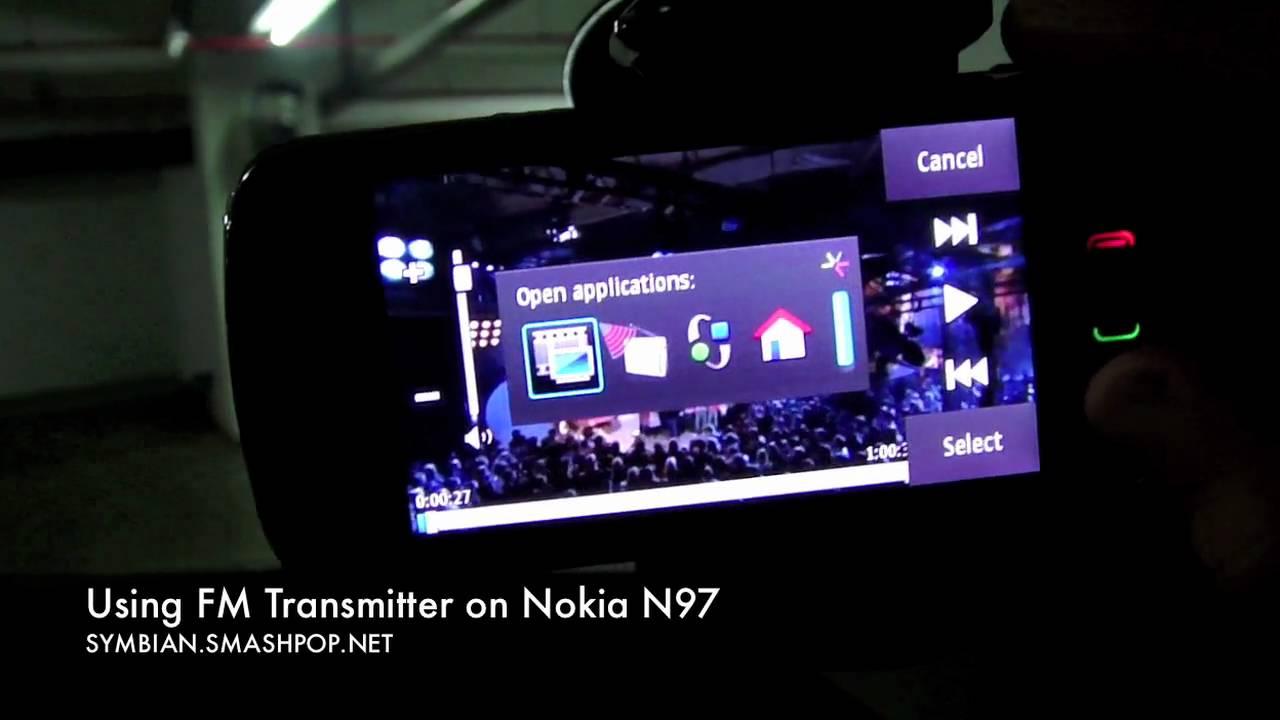 FM TÉLÉCHARGER N97 NOKIA EMETTEUR POUR