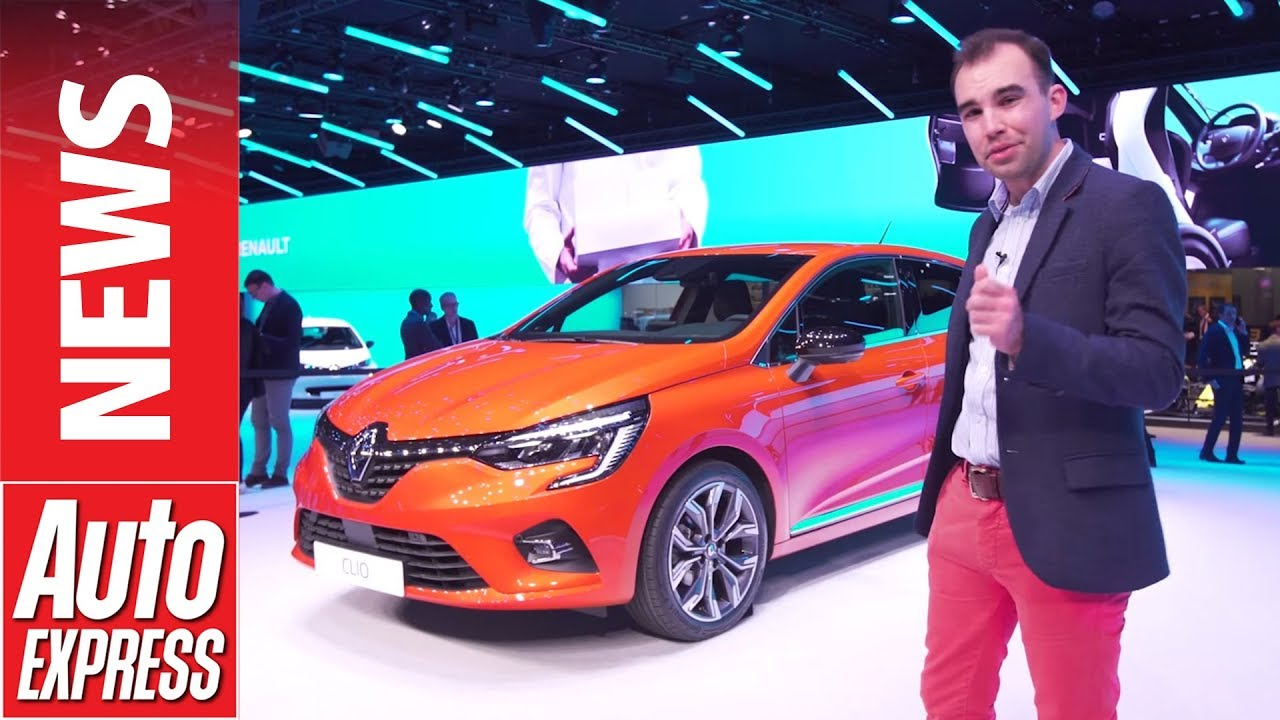 New 2019 Renault Clio Uncovered At Geneva With Mild Hybrid Option