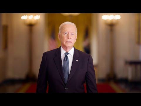 President Biden on the 20th anniversary of 9/11
