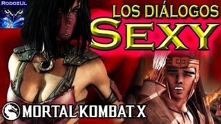 Los diálogos más sexy de Mortal Kombat X (y algunos para mal pensados)