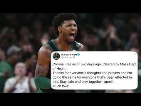 Marcus Smart says he's been cleared after coronavirus diagnosis
