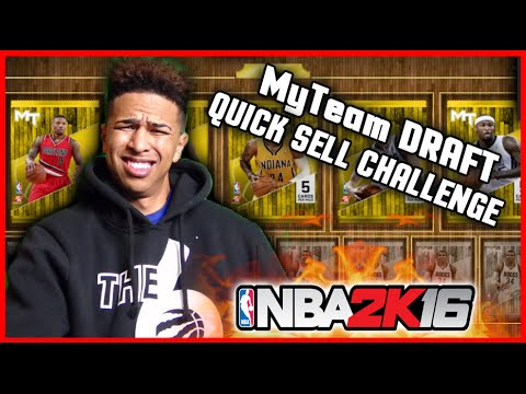 MT DRAFT & PLAY! QUICK SELL CHALLENGE! HILARIOUS MATCH UP! NBA 2K16 MyTeam Gameplay