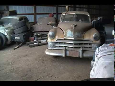 1950 Chrysler New Yorker Straight 8 started after 27 years