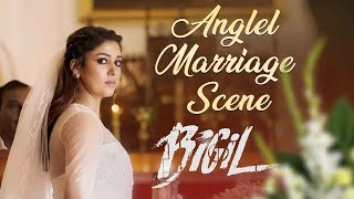 Bigil | Anglel Marriage Scene | Vijay | Nayathara | 4k (English subtitles)