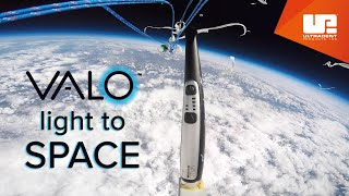 100k Foot VALO™ Curing Light Drop Test   Weather Balloon High Altitude Flight