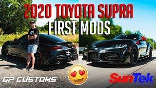 First Mods to TheStradmans 2020 Supra!   GP CUSTOMS