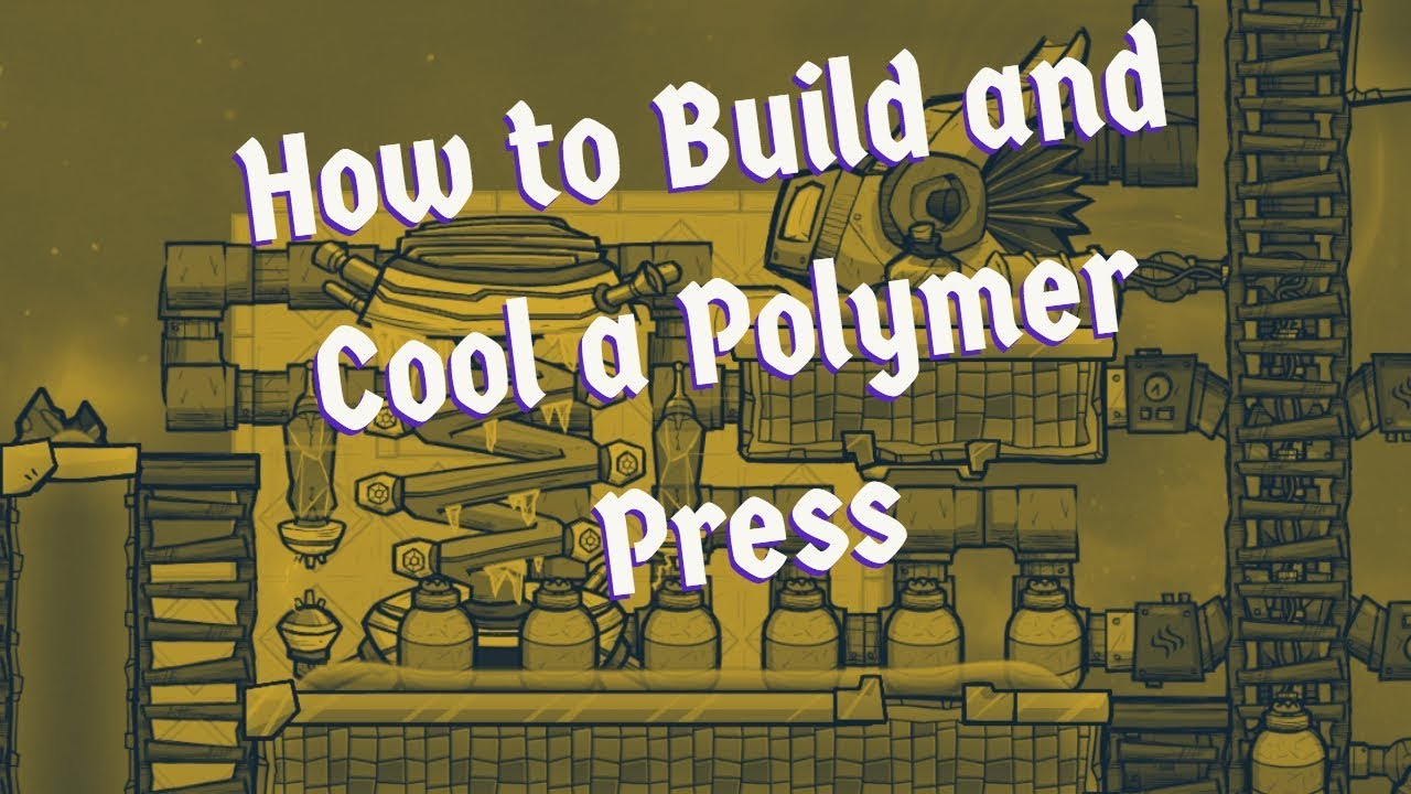 #14 Oxygen Not Included - How to Build a Polymer Press and Produce Plastic