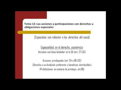 Lec014  Tema 13 Las acciones y participaciones con derechos u obligaciones esp. (umh1425sp 2015-16)