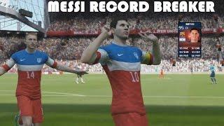 MESSI RECORD BREAKER