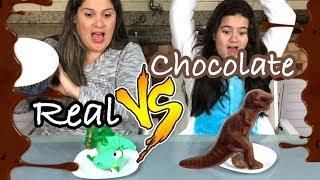 CHOCOLATE VS REALIDADE