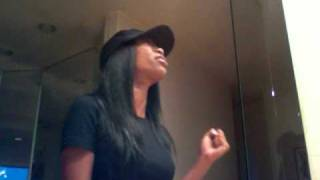 "Brandy- singing in my bathroom AGAIN!!! ""A change is gonna come"""
