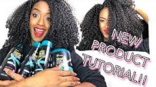 NEW PRODUCT TUTORIAL! Novex Haircare Wash Routine!