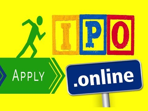 HOW TO APPLY IPO ONLINE ?