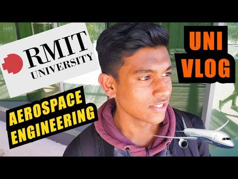 Day In The Life Of An Aerospace Engineering Student | RMIT University | Uni Vlog | Australia