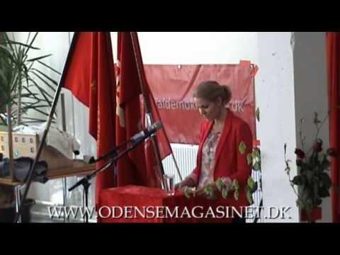 1. maj 2013  Helle Thorning Schmidt i Odense