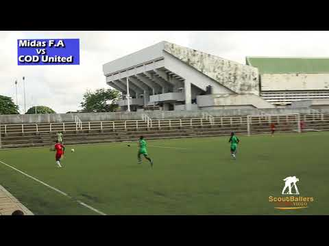 Midas Football Academy vs COD United (U-19) in Lagos Nigeria