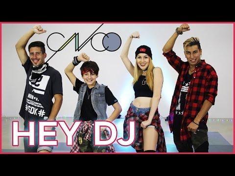 CNCO, Yandel - Hey DJ | Coreografia A bailar con Maga ft. Tomas Rojas