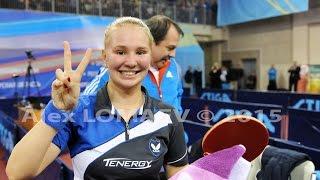 Yana NOSKOVA - Anna TIKHOMIROVA. Russian Championships-2015. Women