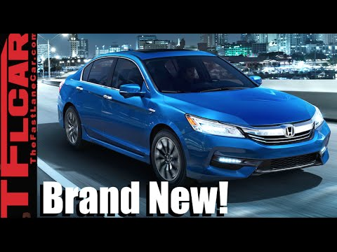 2017 Honda Accord Hybrid First Drive...